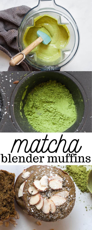 Matcha Blender Muffins Recipe Food Matcha Best Breakfast Recipes