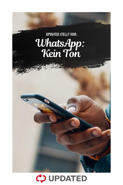 Whatsapp Kein Ton