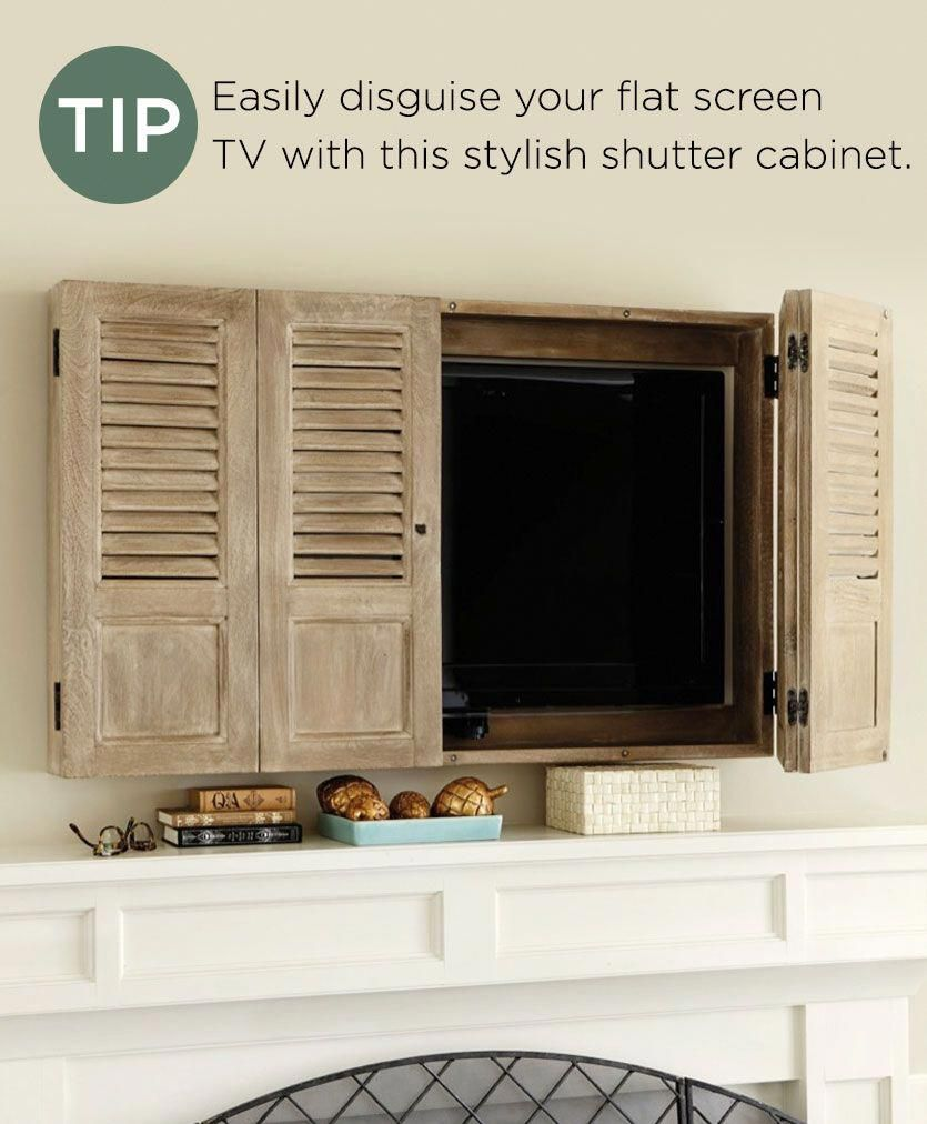 In The Pages Of Our Catalog Youve Probably Noticed The Tips That We Include For Design Inspiration From The Pr Tv Covers Tv Wall Cabinets Living Room Remodel