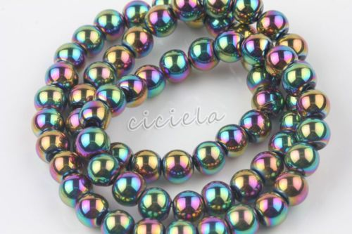 Jewelry-Lots-Charms-Czech-Crystal-Glass-Loose-Round-Spacer-Beads-DIY-6-8-10-12mm