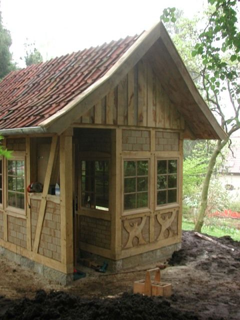 Fachwerk Cottage Timber Trails Turnkey tiny house