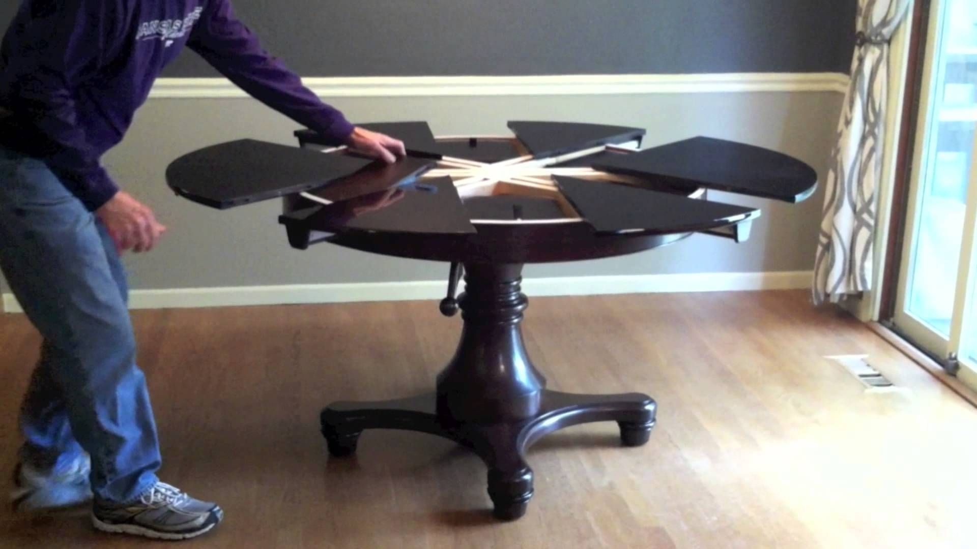 Unique Expanding Round Table Becomes Oval | me & Furnitures ...