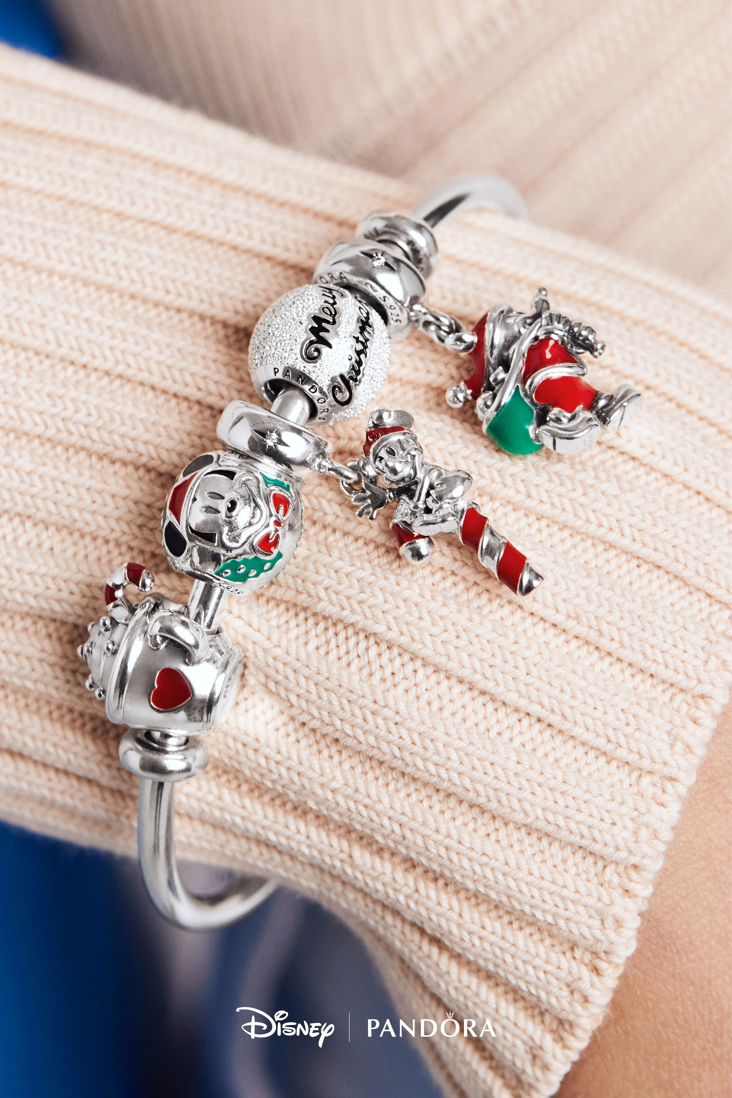 2019 Pandora Christmas Charms Let these holiday ready Disney PANDORA charms brighten up your