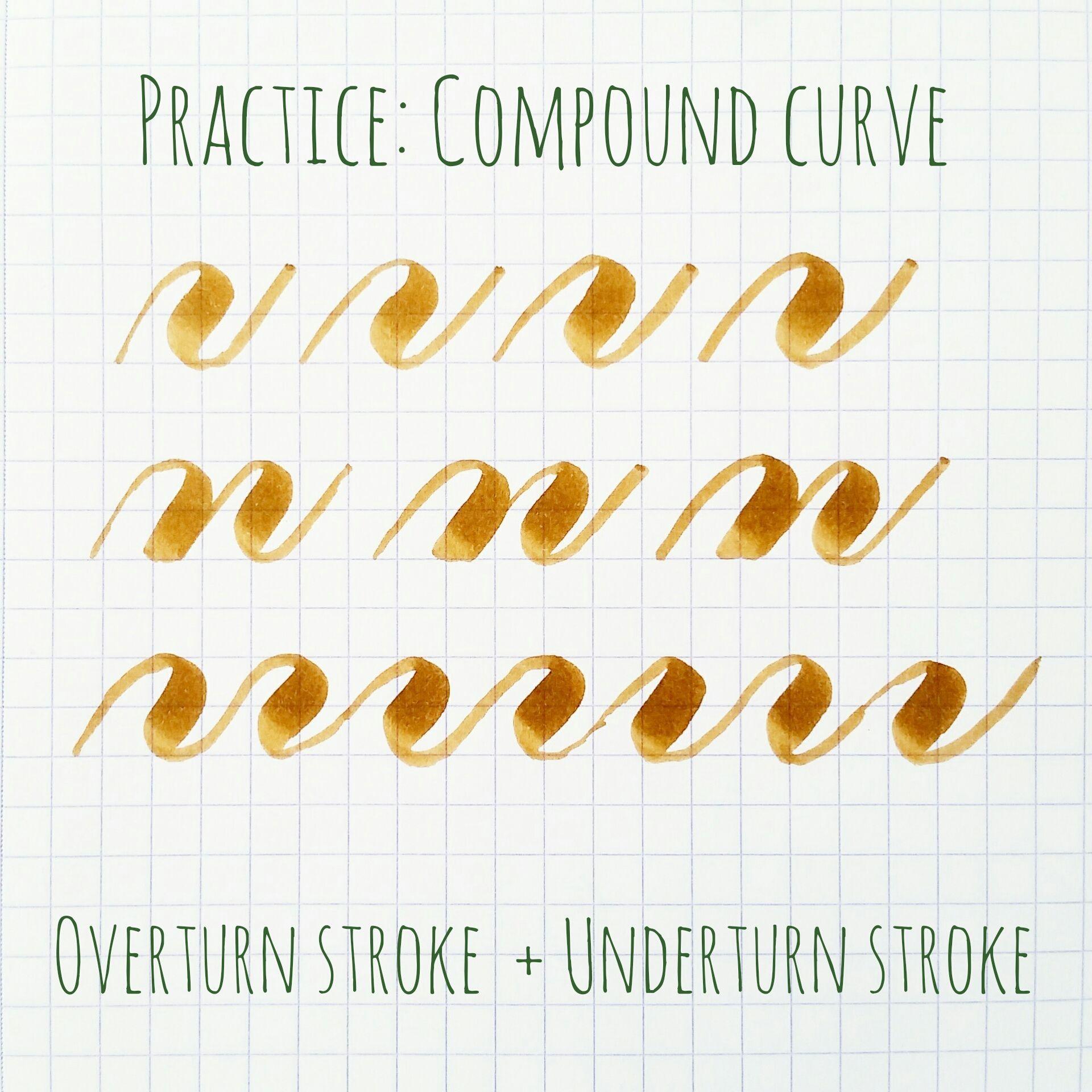 Basic Strokes Compound Curve