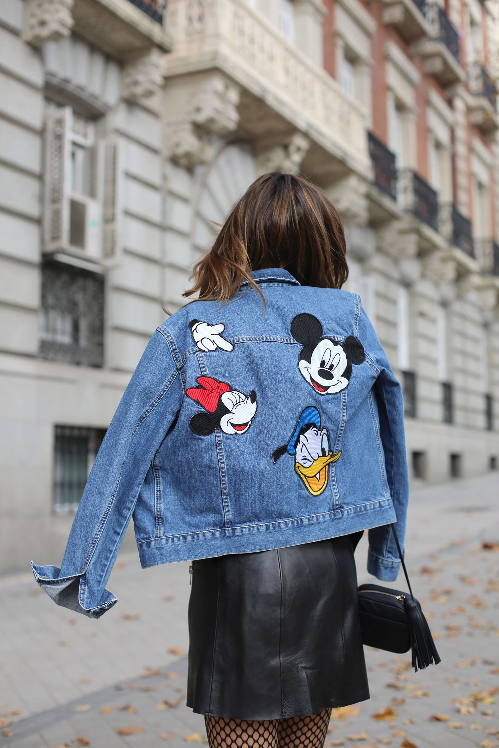 ea8ced071 Mickey Mouse denim (ladyaddict | outifts | Ropa disney, Ropa de ...