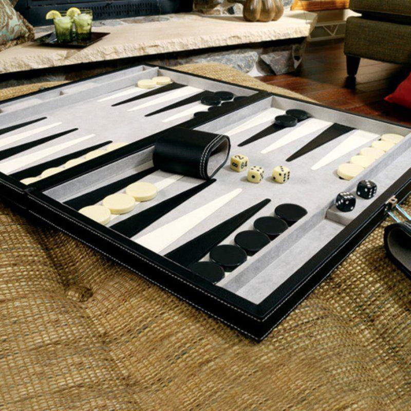 WANT black & white backgammon Backgammon set, Backgammon