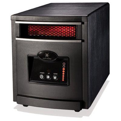 Heat Storm 1,000 Watt Infrared Cabinet Mojave Indoor Space Heater HS ...