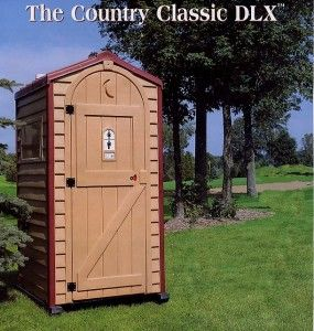 country classic portable toilet