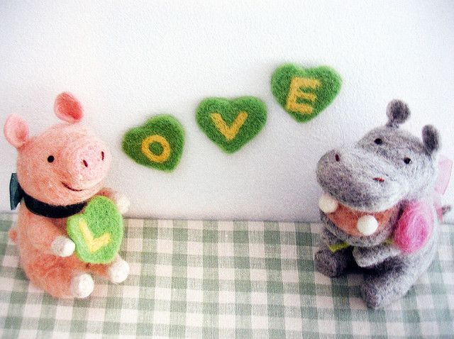 9784529047579 cute felt small animal friends-japanese craft book, via Flickr.