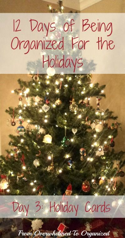 Are you overwhelmed with the thought of sending out Christmas cards?  Check out these tips to simplify the process so you can enjoy your holidays!