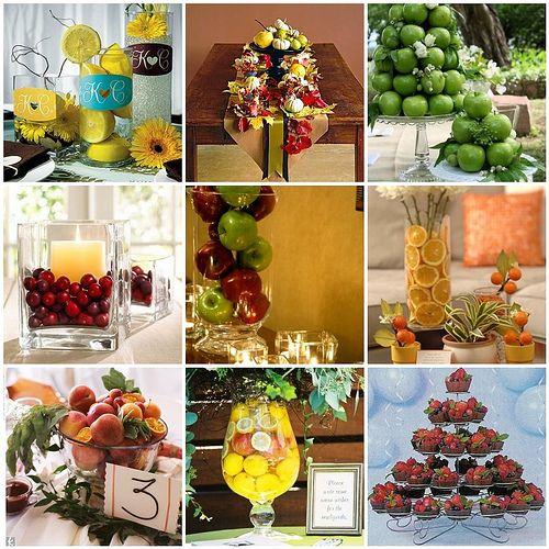 Seasonal Fruit Centerpieces | Pinterest | Centerpieces, Fruit ...