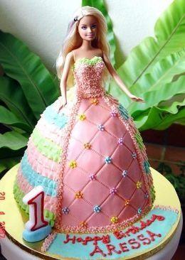 How To Make A Barbie Doll Cake Muecas Barbie y Tortas De Mueca