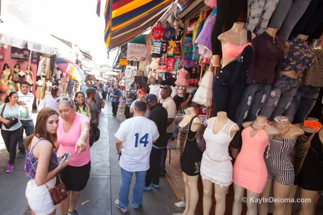 Fun Ways To Experience Downtown Los Angeles California Los Angeles Shopping La Shopping Fashion District Los Angeles