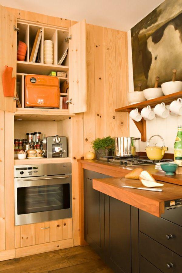 Fabelhafte Kücheneinrichtung in warmen Farbtönen