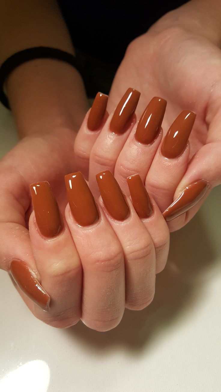 Opi Nail color A Piers to be Tan Coffin Nails Nail Shapes Fall Nails Fall Nail C... #nailsshape