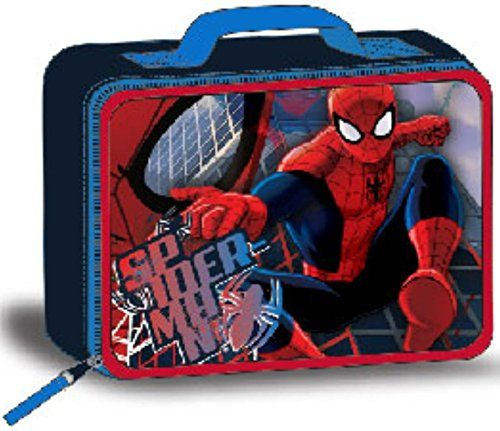 Marvel Spiderman Lunch Box Kit @ niftywarehouse.com #NiftyWarehouse #Spiderman #Marvel #ComicBooks #TheAvengers #Avengers #Comics