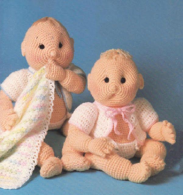 игрушка пупс вязание
