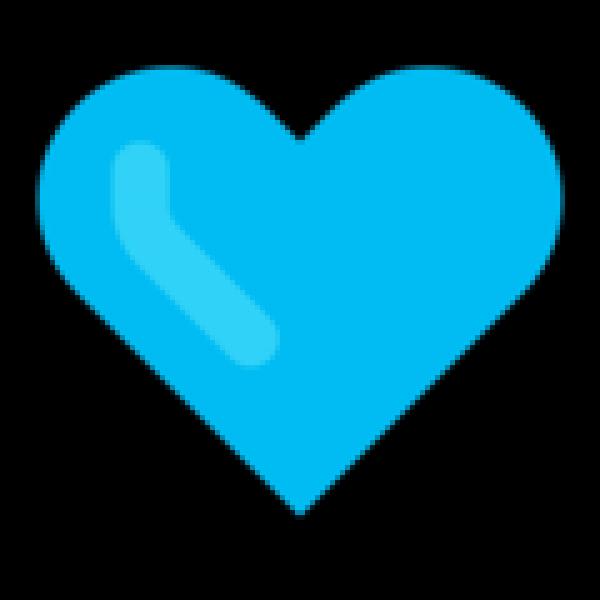 On Microsoft Windows Blue Heart Emoji Transparent Heart Emoji Free Clip Art Purple Emoji