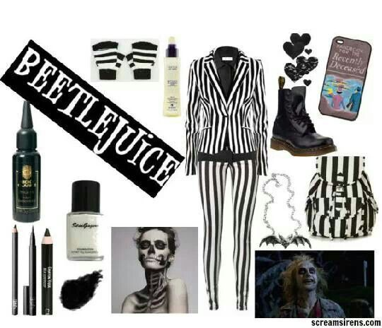 Girl beetlejuice costume ideas google search halloween girl beetlejuice costume ideas google search solutioingenieria Image collections