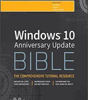 Windows 10 Anniversary Update Bible PDF Software Pinterest - spreadsheet download windows 10