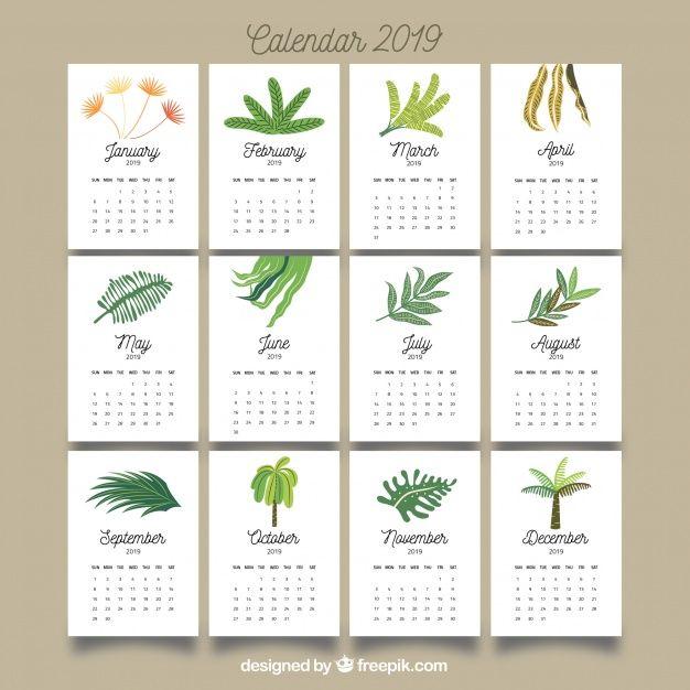 Calendarios De February De 2019 Bonitos Pinterest