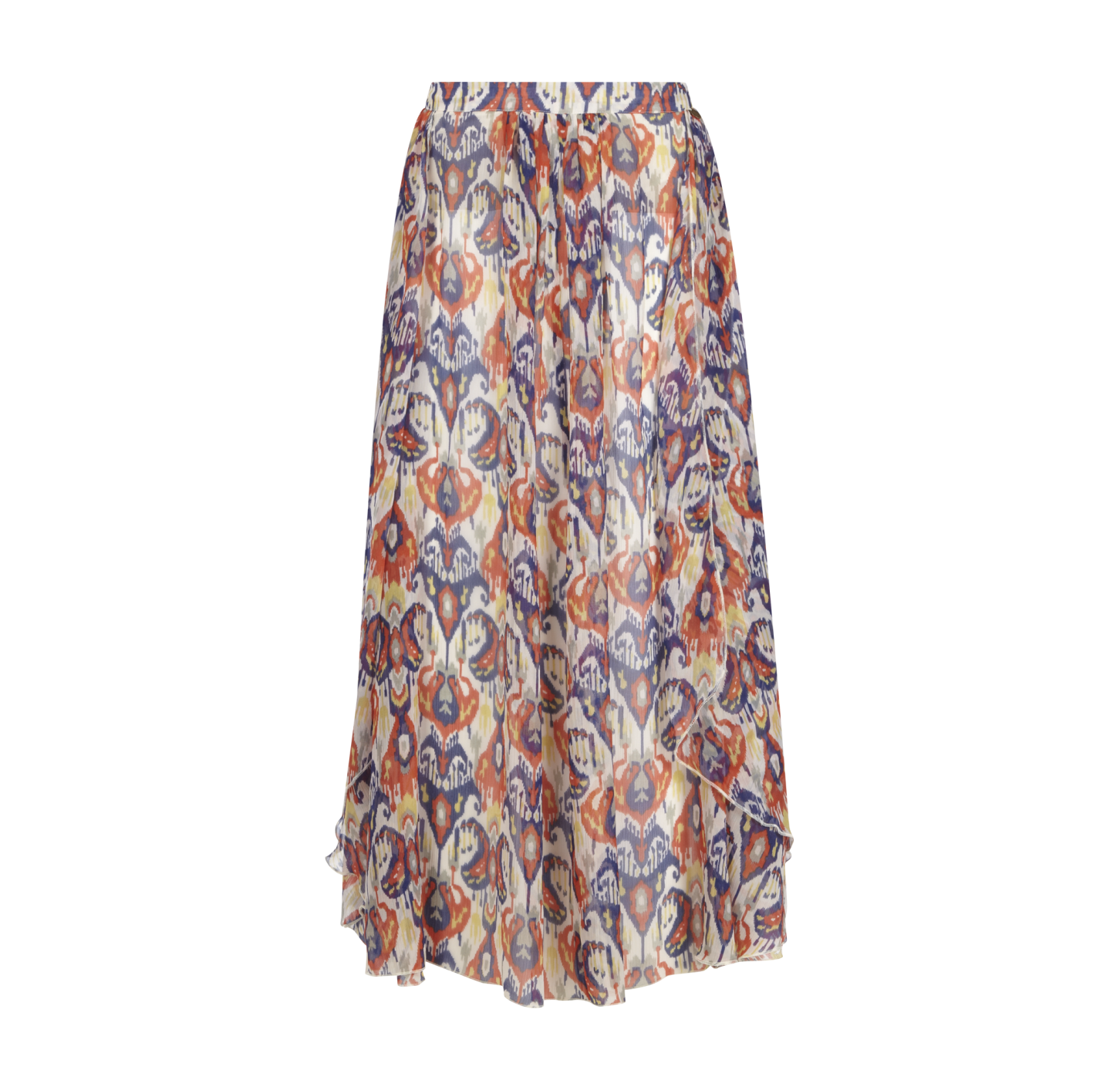 pepe jeans chiffon rock mit all over print muster - Jeans Mit Muster