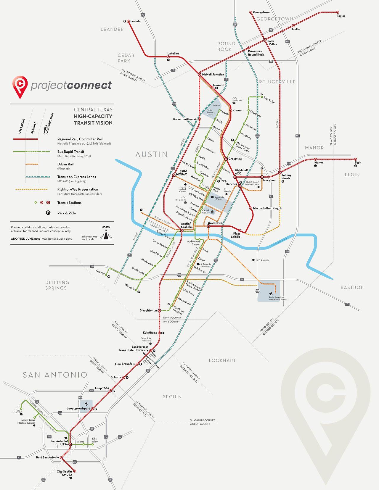 Austin Texas Subway Map.Pin By Oleg Zhuravlev On Graphic Map Map Diagram Bus Map