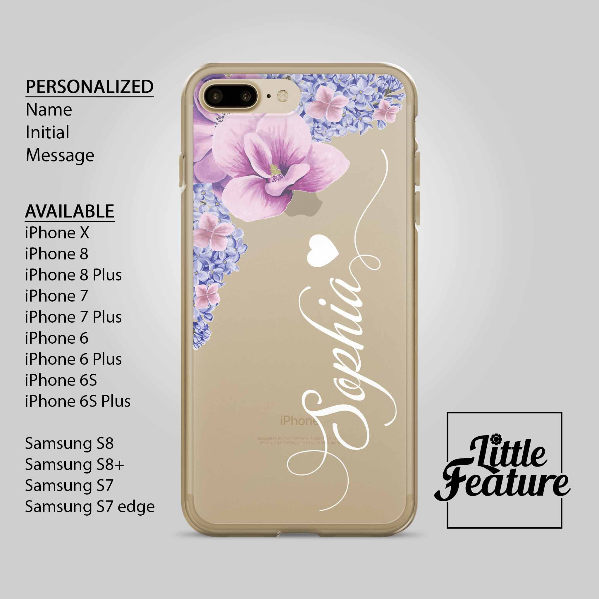 personalised iphone 6s case initials