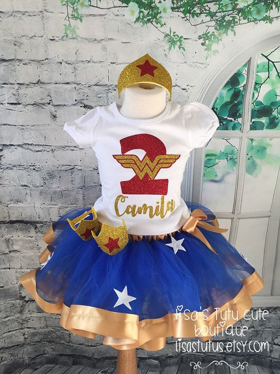 Wonder Woman Tutu Outfit By LisasTutus