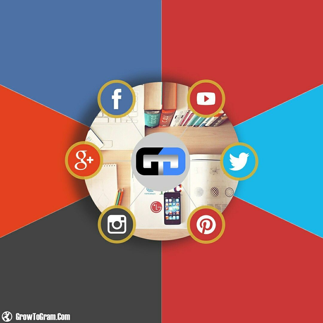 از این پس با استفاده ازخدمات جدید وب سایت Growtogram می توانید در تمام شبکه های اجتماعی پرطرفدار برای خود اعتبار کسب کنید برای اطلاع Art Enamel Pins Poster