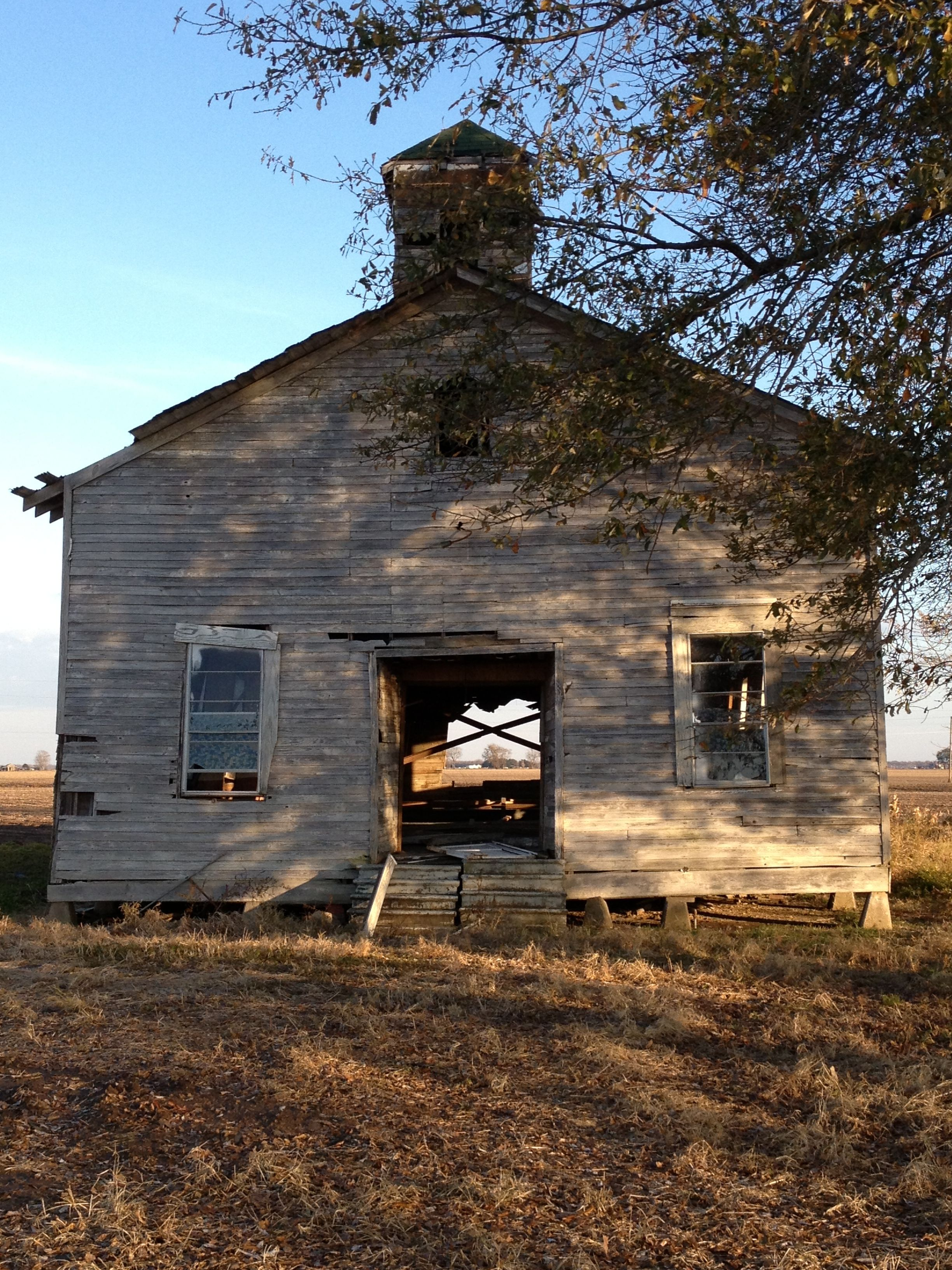 Old Field Workers Church At Mont Helena Rolling Fork
