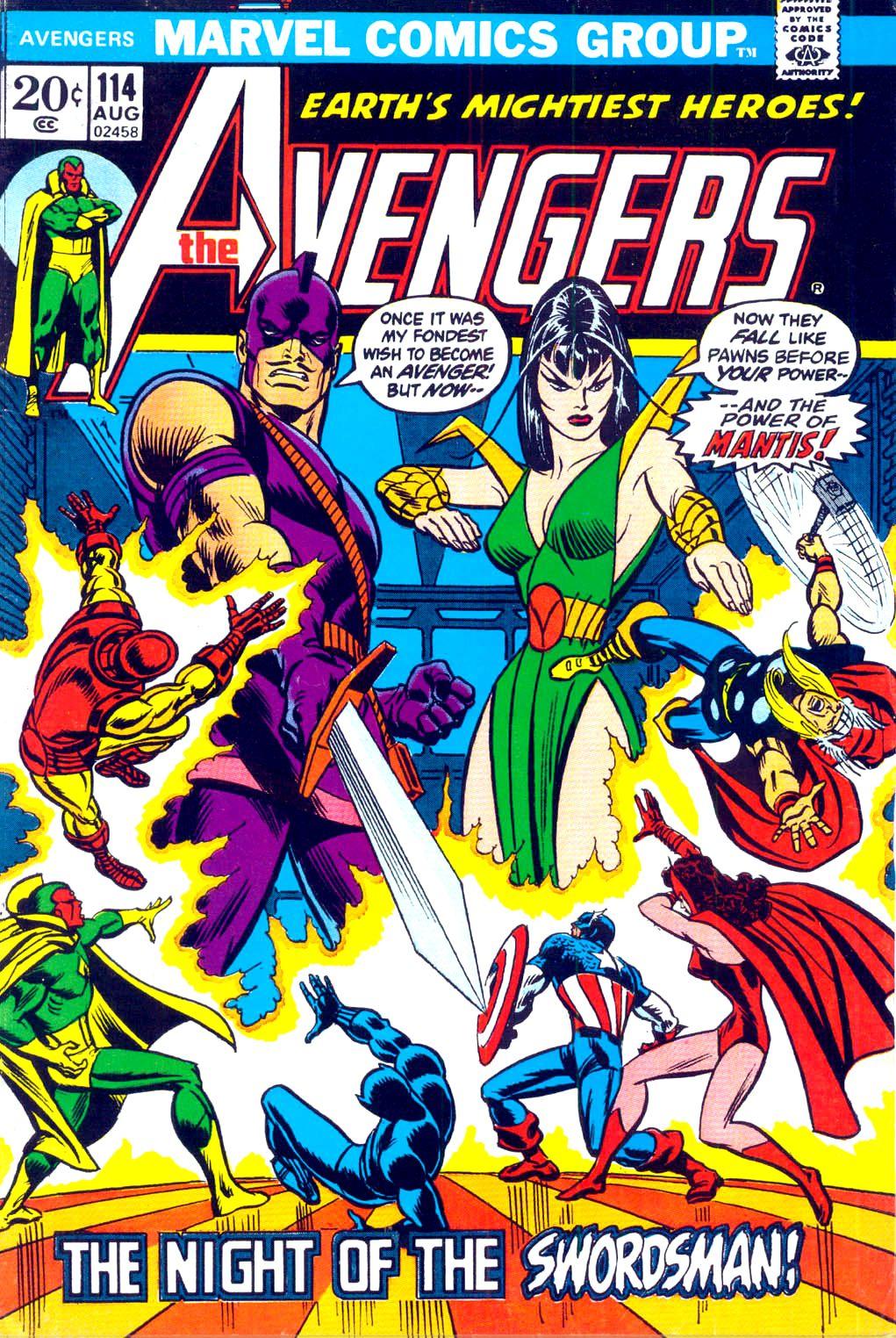 Avengers 114 marvel comic books marvel comics covers