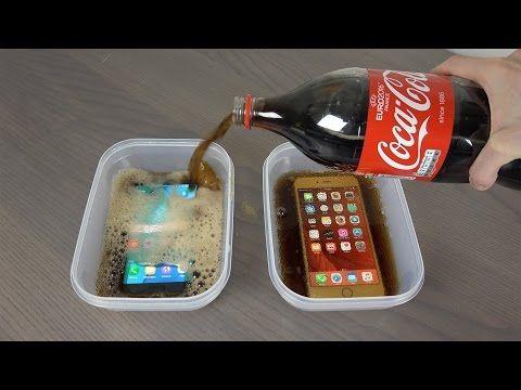 Samsung Galaxy S7 e iPhone 6S: prova congelamento Coca Cola - http://www.tecnoandroid.it/samsung-galaxy-s7-e-iphone-6s-prova-congelamento-coca-cola/ - Tecnologia - Android