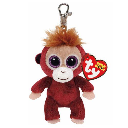621eea03429 TY Beanie Boos Boris the Monkey Keyring Clip
