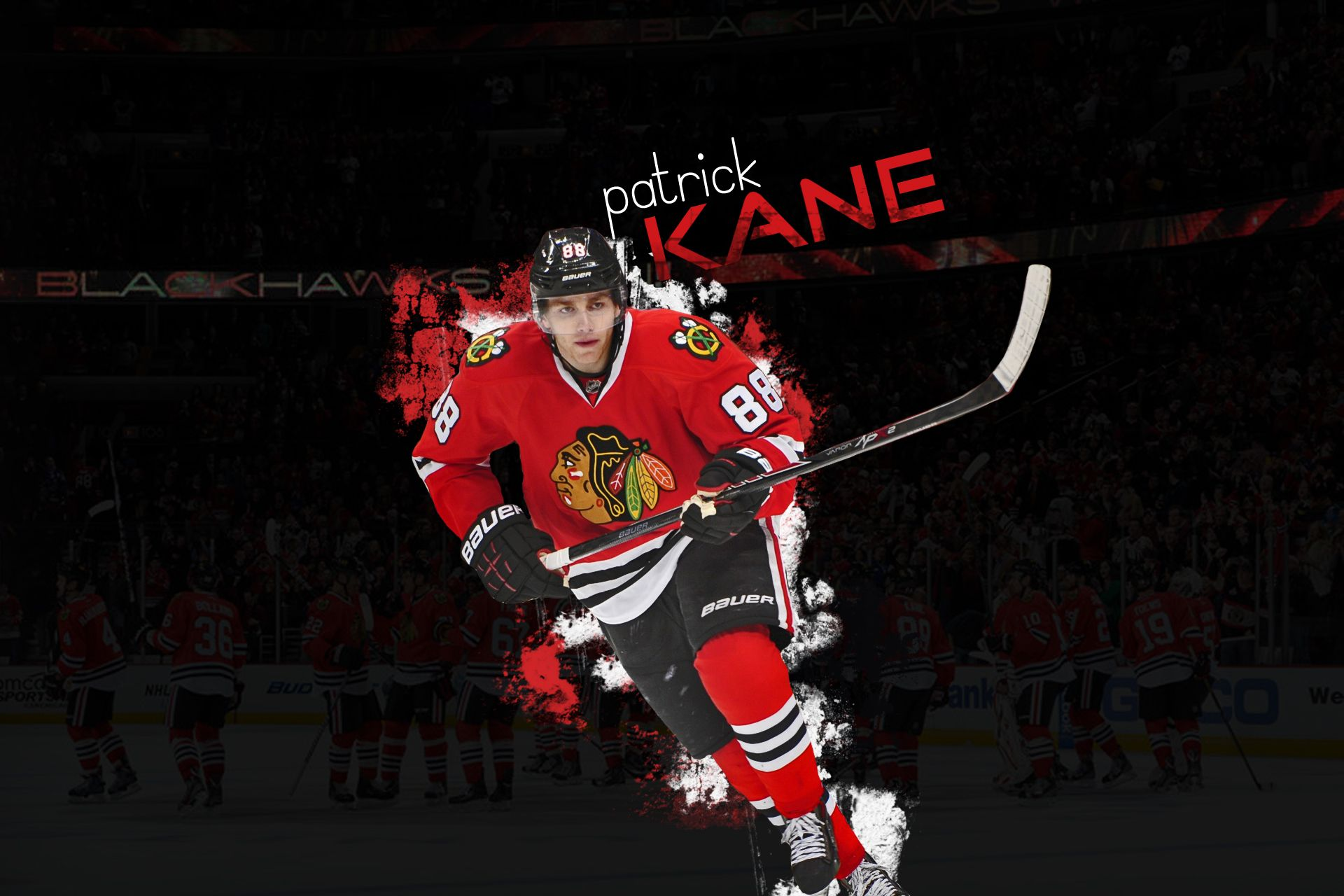 Nhl wallpaper featuring patrick kane from chicago - Nhl hockey wallpapers ...