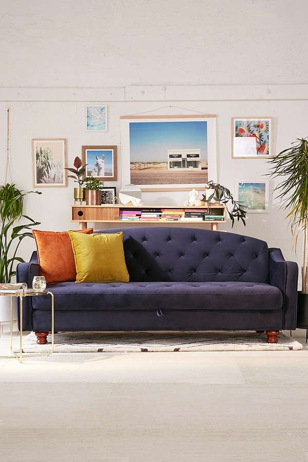 Chaise Lounge Sofa Adeline Storage Sleeper Sofa