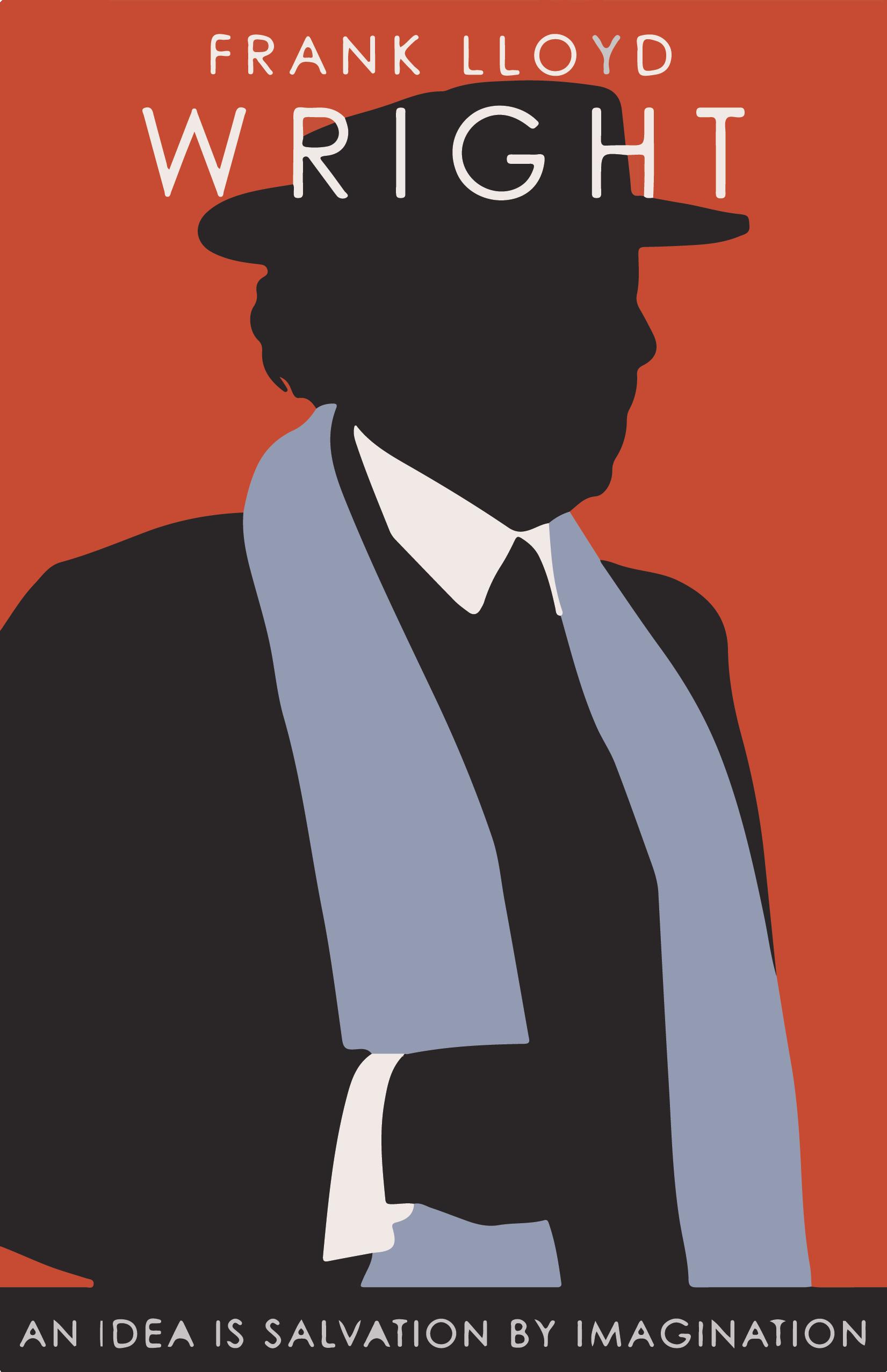 dbbd5737bbd2 Frank Lloyd Wright (1867-1959) poster
