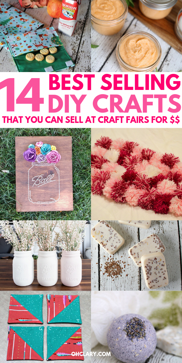 14 Awesome DIY Crafts That Sell Well At Craft Fairs and On