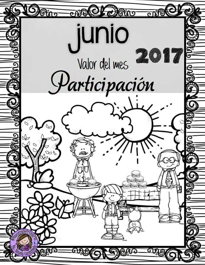 Portada Junio 2017 Portadas Actividades Para Preescolar Actividades De Espanol