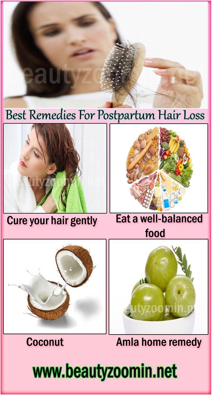 Best Remedies For Postpartum Hair Loss