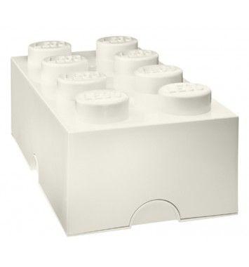 Lego Opbevaring 8 Hvid - Opbevaring - Børnemøbler - Interiør