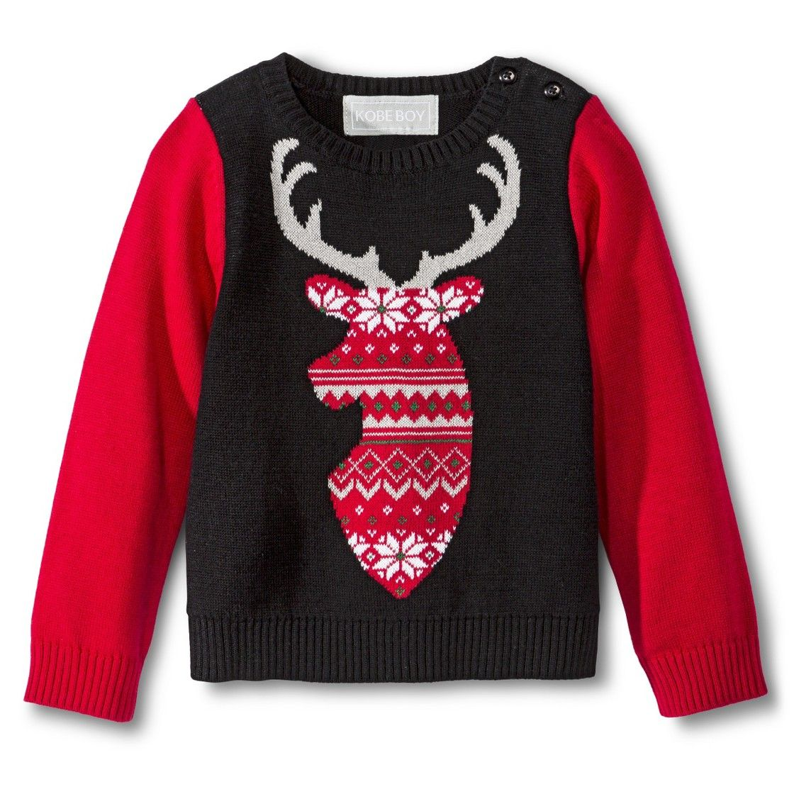 Infant Toddler Boys' Reindeer Ugly Christmas Sweater totally going ...