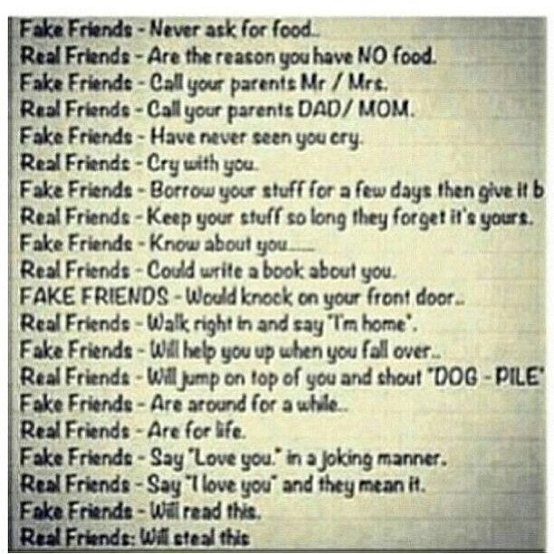 Friends Real Or Fake Friendship Quotes Funny Best Friend Quotes Friends Quotes
