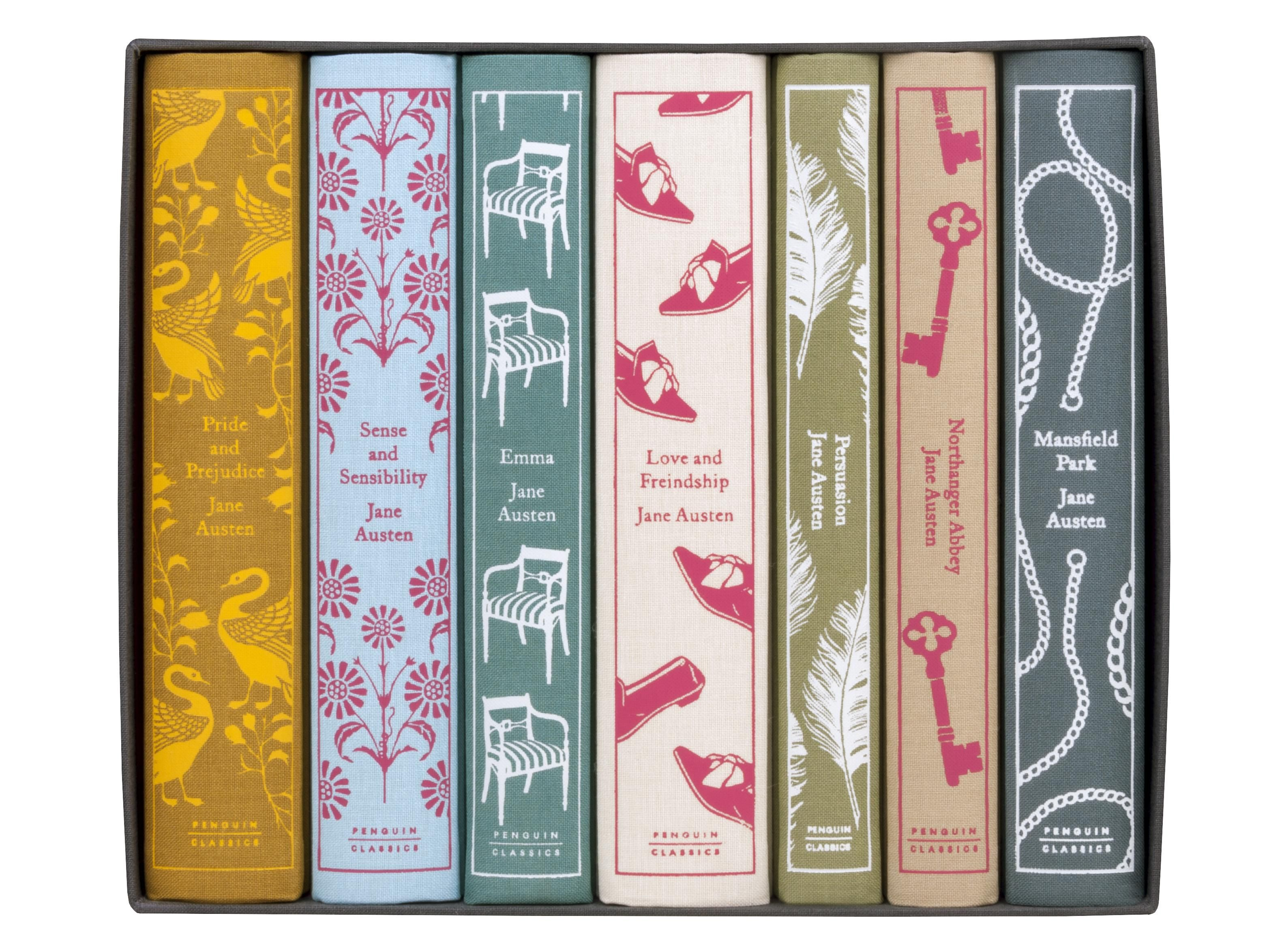 Penguin Classics Juniper Edition Jane Austen Box Set Penguin Clothbound Classics Jane Austen Books Jane Austen Gifts