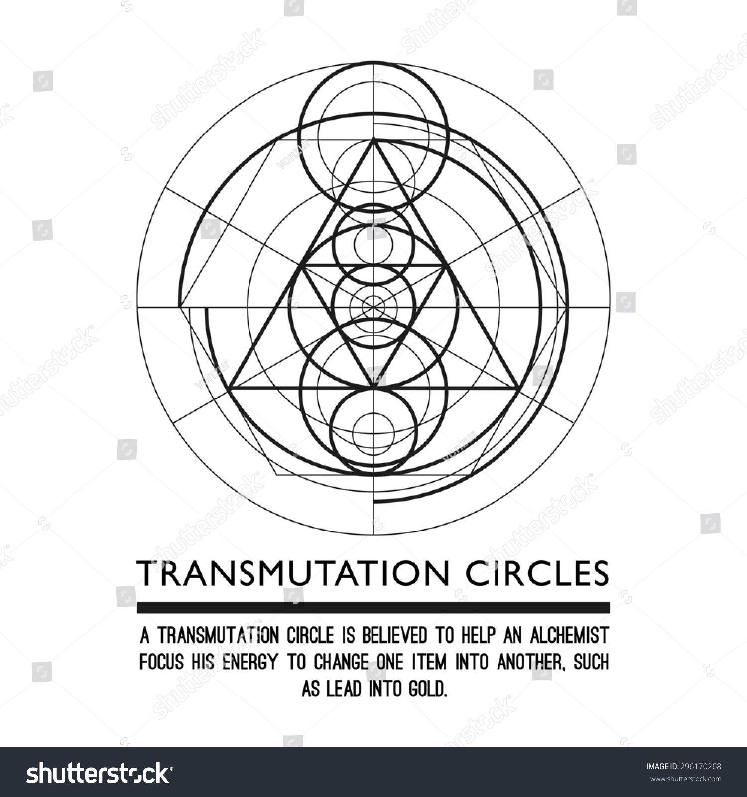 Transmutation Circle Tattoo: Transmutation Circles
