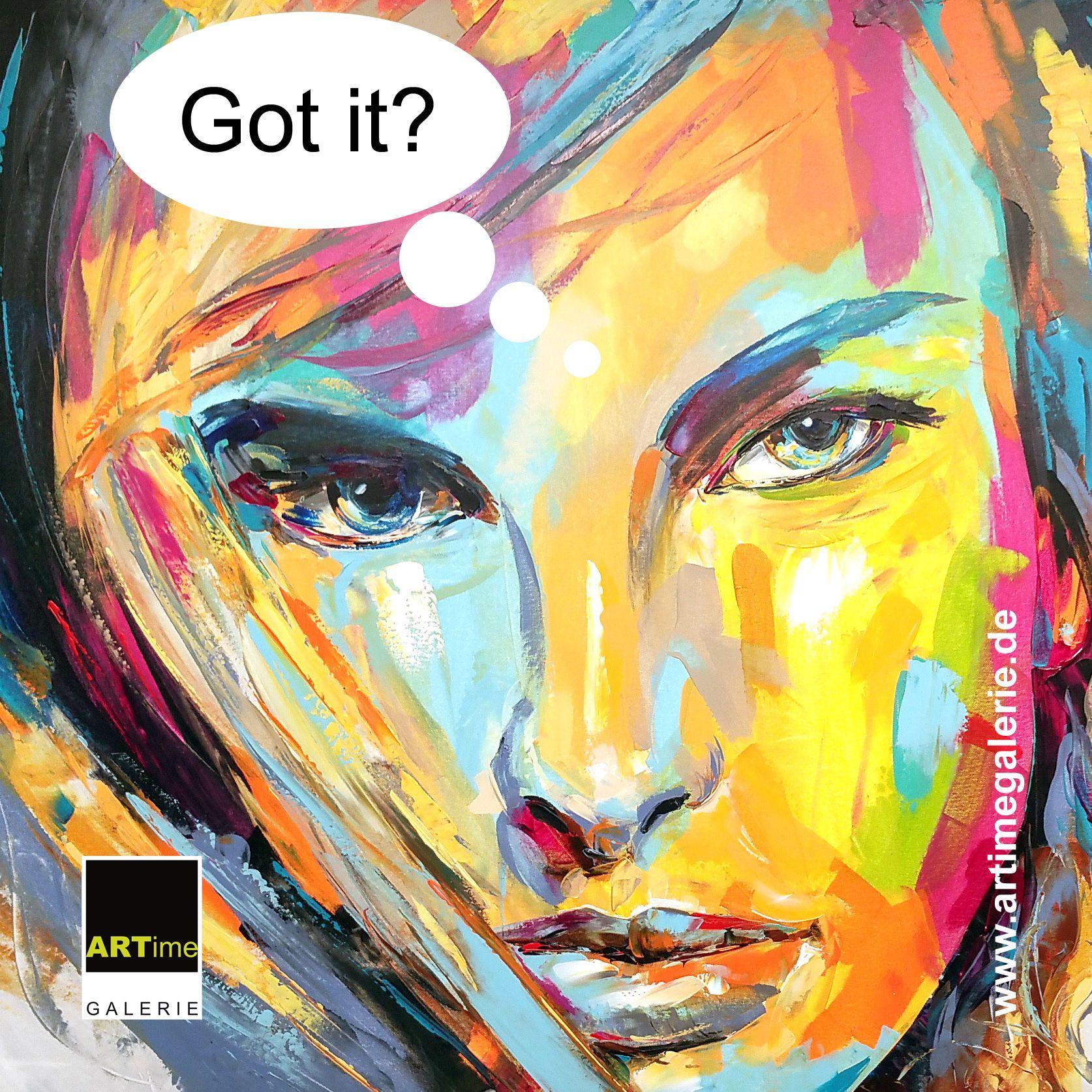 Got It Popart Großformatiges Gemälde In Acryl Auf Leinwand Moderne Gemälde Gemälde Kunst
