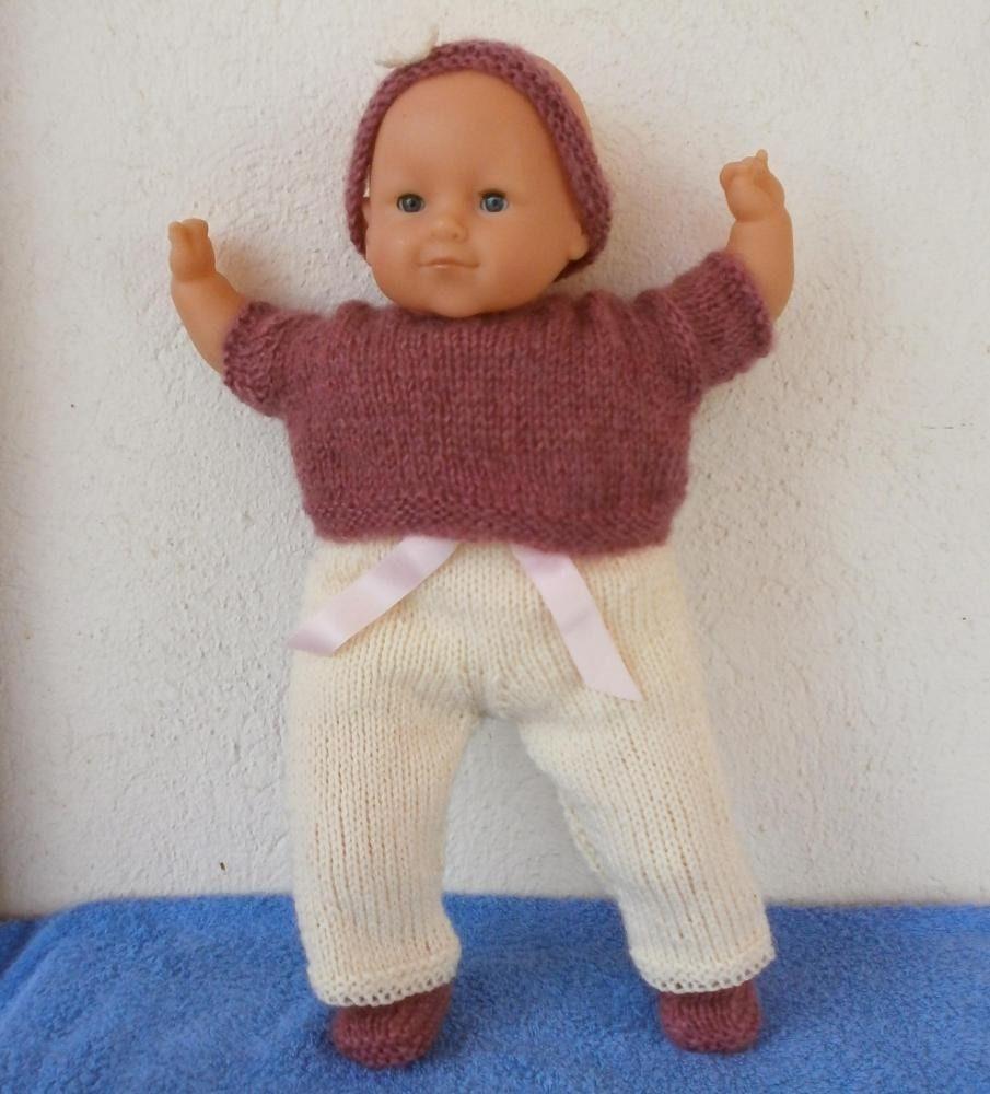 tricoter habit pour poupon