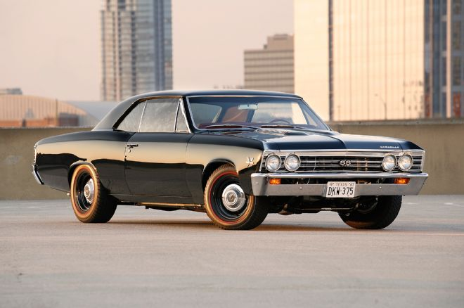 This 1967 Chevelle doesn't look like much at first glance, but it packs a huge punch with its 454ci LS engine. Check out this amazing blacked-out Chevelle!