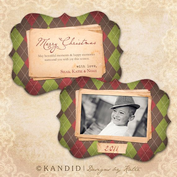 Plaid Christmas Card Template Whcc Millers Lab By Kmarshphotos 7 00 Plaid Christmas Card Christmas Card Template Holiday Photo Cards