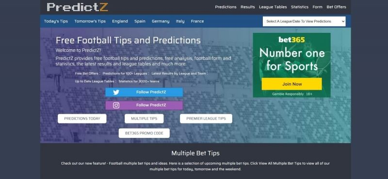 Predictz prediction today/betting lb options binary